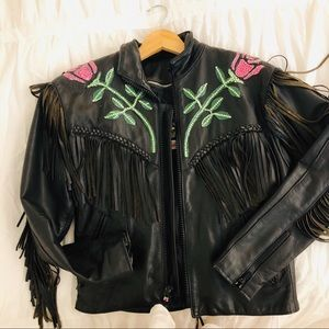 Desert Rose Leather Jacket